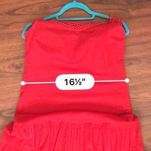 Jones Wear Dresses - Jones wear dress. Red Spanish style. Size 10.